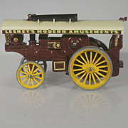 Matchbox Models of Yesteryear Fowler Showman's Engine early version dark purple