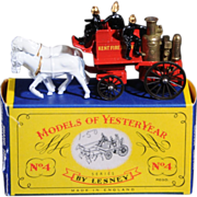 Lesney Matchbox Yesteryear Y4-2 Shand Mason Fire Engine