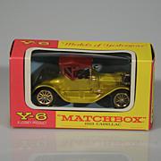 Vintage Lesney Matchbox Yesteryear Y-6 1913 Cadillac