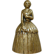 SALE PENDING Vintage Brass Belgium Belle BELL