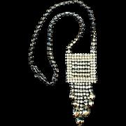 Kramer of New York Waterfall Rhinestone Necklace