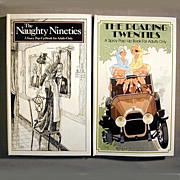 SOLD 2 Great Pop-Up Books Roaring Twenties & Naughty Nineties (1890s) - Red Tag Sale Item