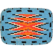SOLD Big SHOSHONE Native American Beaded Belt Buckle