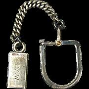 Tiffany & Co. Sterling Silver Keyring Key Ring - 1940s