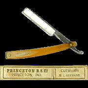 Victorian Shaving Straight Razor Knife Orig. Box - CUTWORM Germany