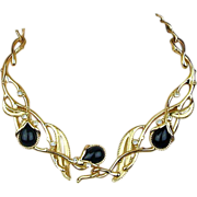 Vintage Jose Maria Barrera for Avon Necklace Jeweled