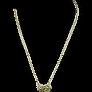 Vintage 18K Gold Pendant Necklace - Sun - Turtle - Moon - Rubies