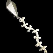 Vintage Signed Designer Sterling Silver KITE Pin Brooch