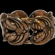 Sterling Mexico bracelet AE heart M mark