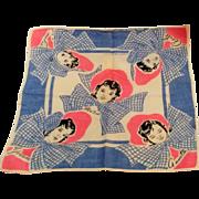 Dionne Quintuplets handkerchief bonnets and bows pink blue Tom Lamb
