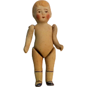 All bisque boy doll dollhouse miniature