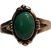 Bell Trading Post ring turquoise stone size 9