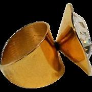 Napier Modern design cocktail ring crystal rhinestone