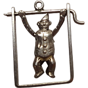 Sterling charm mechanical acrobat circus clown