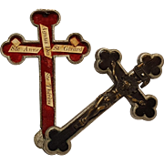 Pectoral Cross crucifix reliquary four saint relics Germany