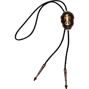 Bell Trading Post copper bolo tie thunderbird