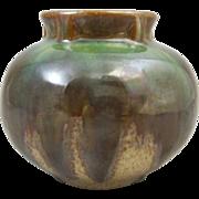 Fulper Art Pottery Vase #531 Drip Glaze