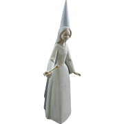 Lladro Porcelain Spain Fairy Godmother Figurine