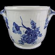 Royal Copenhagen Porcelain Blue Flowers Blaue Blume Wine Cooler