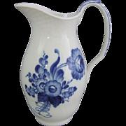 Royal Copenhagen Danish Porcelain Blue Flowers Blaue Blume  Milk Jug Pitcher 443