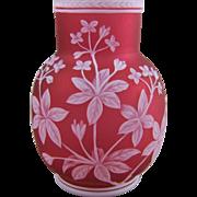 Antique English Cameo Glass