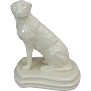 Belleek 140th Anniversary Porcelain Figure of an Irish Wolfhound