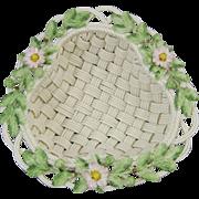 Belleek Woven Porcelain Annual 2000 Strawberry Basket