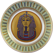 REDUCED Kaiser Porcelain King Tut-Ankh-Amun Wall Charger