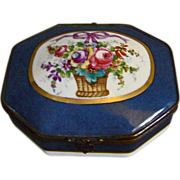 REDUCED Paris Porcelain Trinket Casket