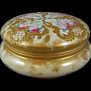 REDUCED T & V Limoges Porcelain Jewelry Box Tressemanns & Vogt