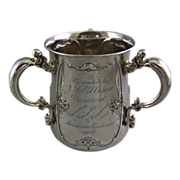 Gorham Sterling Silver Loving Cup with Names of Cincinnati's Most Notable Citizens Circa 190
