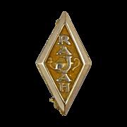 Rajah Temple Masonic Lapel Pin