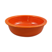 "Homer Laughlin Vintage Fiesta Red 5.5"" Fruit Bowl Nappy"