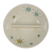 Franciscan Starburst Mid Century Divided Vegetable Dish
