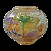 Lundberg Studios Daniel Salazar Starfish Paperweight Style Bowl