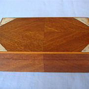Edwardian Walnut Box