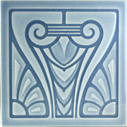 c.1905 NSTG German Art Nouveau Tile #9