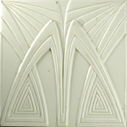 c.1910 Boizenburg German Modernist Tile