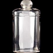 c.1920s, 30s Large Coty Eau De Coty Lalique Design Scent Perfume Bottle