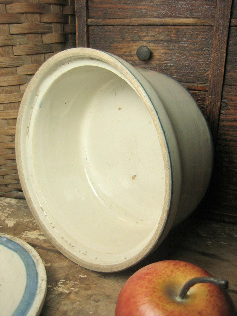 Great Grandma S Old Farmhouse Kitchen Stoneware Butter