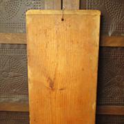 SALE Granny's Favorite Old Wooden Farmhouse Kitchen Bread Board
