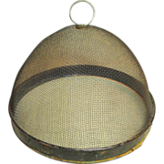 SALE Awesome Old Farmhouse Kitchen Domed Fly Screen Food Cover