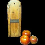 Beautiful Old Wooden Farmhouse Kitchen Kraut Cutter