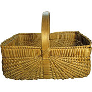 Grandma's Favorite Beautiful Old Gathering Basket