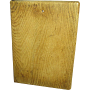 Lovely Old Farmhouse Kitchen Thick Oak Cutting Board