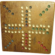 Grandpa's Old Vintage Small Wooden Game Board
