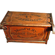 Grandpa's Early Old 'Hoosier Hoe Drill' - Hoosier Drill Co. - Richmond, Ind. - Awesome Orig. P