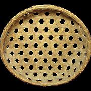 SALE Grandma's Wonderful Vintage Farm Country Cheese Basket