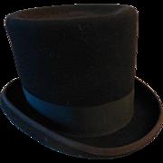 SOLD Vintage Top Hat - Size 7-1/2
