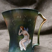 SALE Royal Bayreuth Nude Fairy Pitcher Creamer - Rare